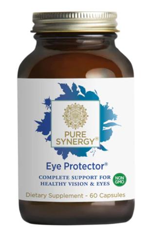 מגן העיניים- פורמולה ייחודית המגינה, תומכת ומתחזקת את בריאות העין   Eye Protector 60c - The Synergy Company