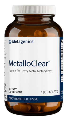 Metalloclear 180t - Metagenics