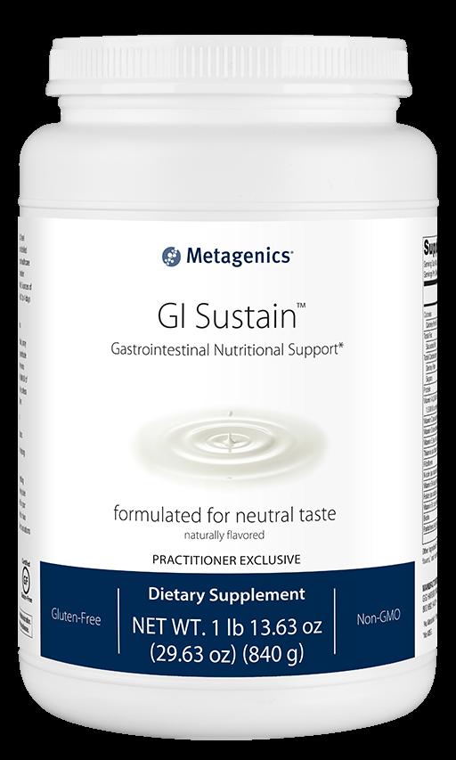 מזון רפואי, 840 גרם, 14 מנות | GI Sustain 840g - Metagenics
