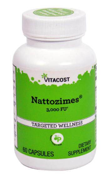 Nattozimes 3000 FU, 60c - Vitacost