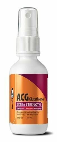 ACG Glutathione גלוטתיון - תרסיס גלותתיון מתקדם- תכשיר אנטי אייג'ינג להעלאת אנרגיות | ACG Glutatione 60ml - ResultsRNA
