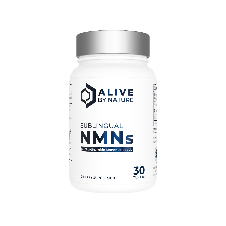 NMNs – 30 ct Sublingual Tablets - AliveByNature