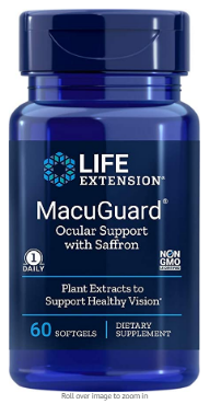 MacuGuard 60sg - LifeExtension