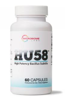 HU58, High Potency Bacillus Subtilis 60c - Microbiome Labs