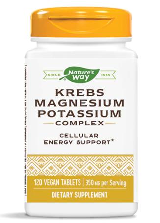 Krebs Magnesium + Potassium 350 mg 120t