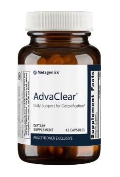ניקוי רעלים מתקדם | AdvaClear 42c - Metagenics