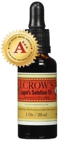 Lugol's Solution of Iodine 5% 2oz - J.Crows Marketplace