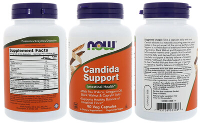 Candida Support 90c - Now