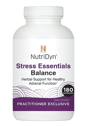 סטרס אסנטיאלס בלאנס | Stress Essentials Balance 180 capsules -Nutridyn