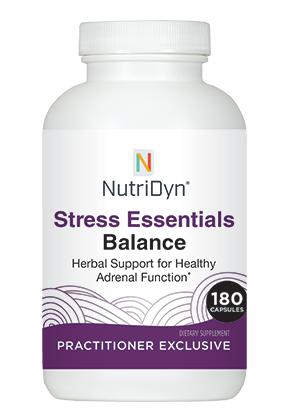 Stress Essentials Balance 180 capsules - Nutridyn | סטרס אסנטיאלס בלאנס