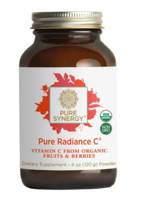 ויטמין סי אורגני אבקה | Pure Radiance C® Powder 120g - The Synergy Company