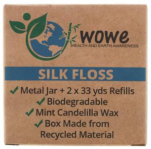Silk Floss, Metal Jar + 2 Refills