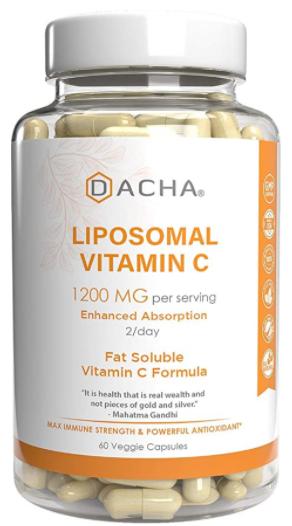 Liposomal C 1,200 mg 60c