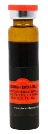 Ginseng & Royal Jelly, 30 Bottles, 10 ml Each