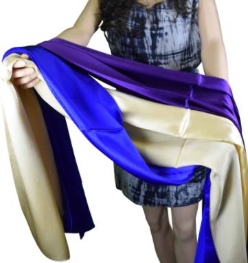 Tachyonized Pure Silk Elegance Scarf - ATTI