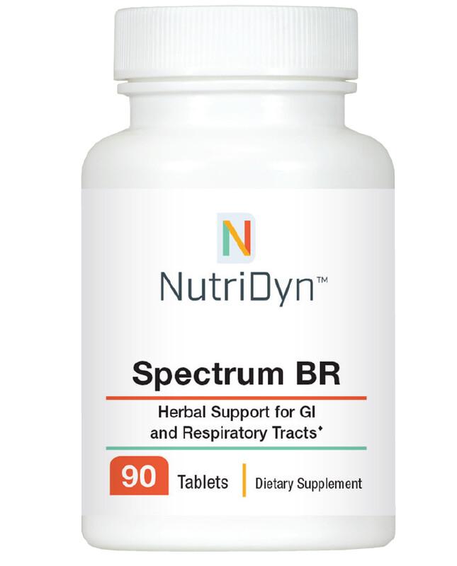 Spectrum BR - 180t  פורמולת צמחי מרפא לתמיכה במערכת העיכול והנשימה