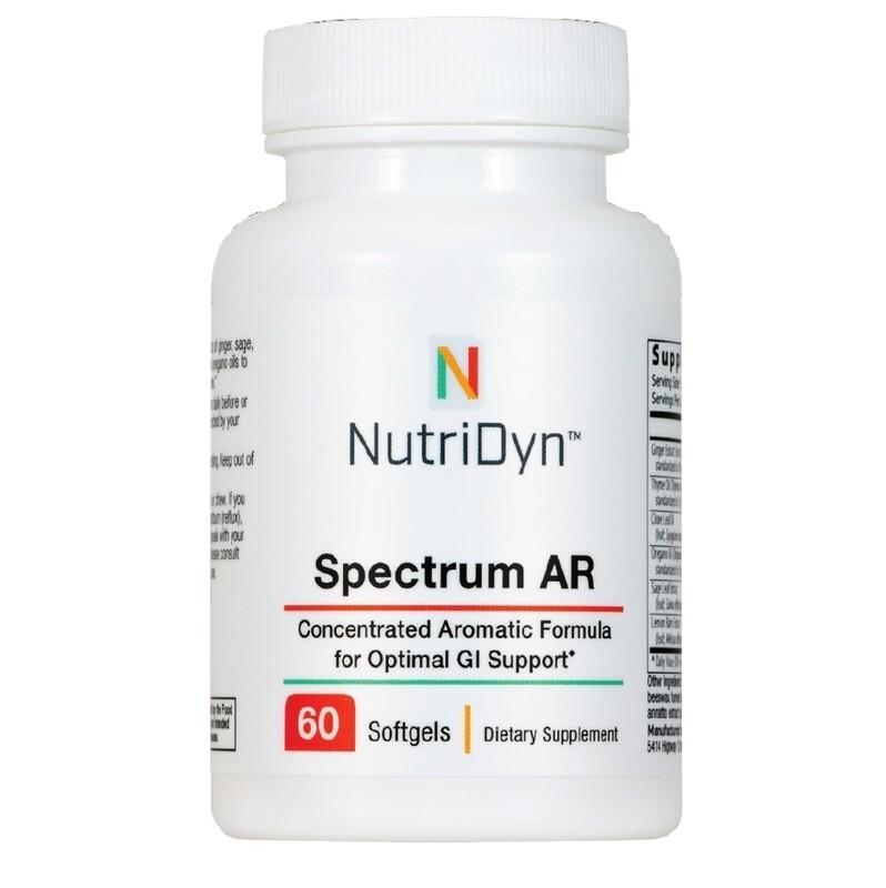 ספקטרום BR - פורמולת ארומטית מרוכזת לתמיכה במערכת העיכול | Spectrum AR 120t - Nutridyn