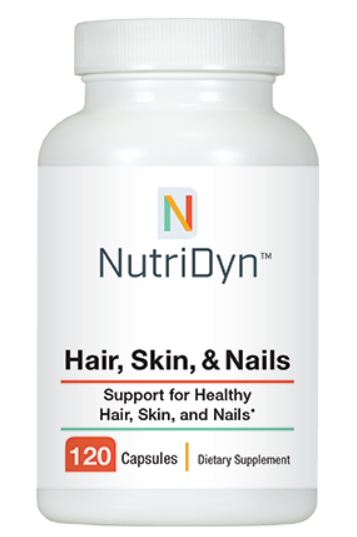פורמולה חיזוק שיער, עור וציפורניים - 120 קפסולות | Hair, Skin & Nails 120с 4/day - Nutridyn