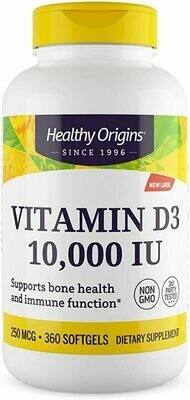 ויטמין D3  10,000 יחב
