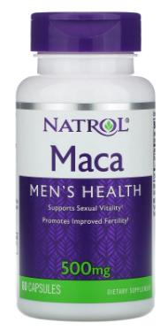 Maca 500 mg 60 Capsules - Natrol