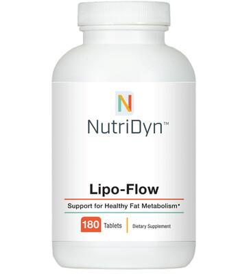 תמיכה במטבוליזם בריא של שומנים  | Lipo Flow 180t - Nutridyn