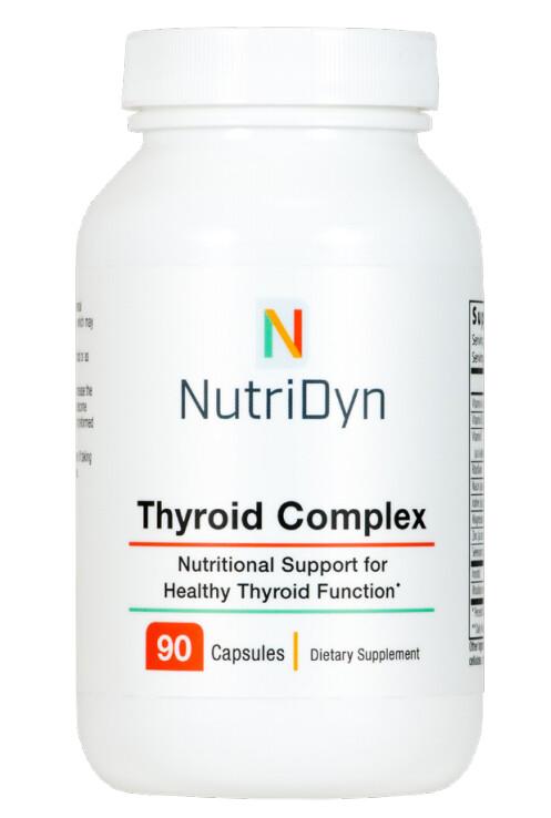 טירואיד קומפלקס - תמיכה תזונתית לתפקוד בריא של בלוטת התריס - 90 כמוסות צמחיות | Thyroid Complex 90c
