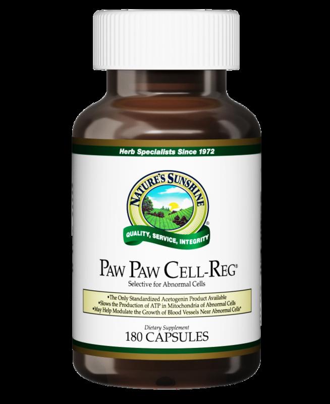 פאו פאו - 180 כמוסות | Paw Paw Cell-Reg™ - 180c