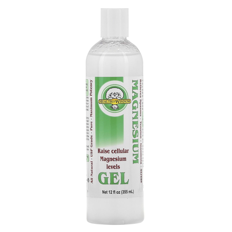 ג'ל מגנזיום לעיסוי ולשרירים תפוסים על בסיס אצות ים | Magnesium Gel with Seaweed Extract 355 ml