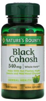 Black Cohosh 540 mg 100c