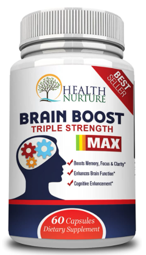 Brain Boost 60c - Health Nurture