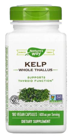 Kelp 600 mg 180 vc