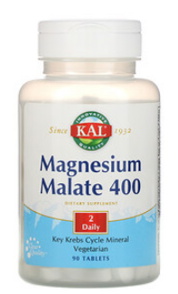 "מגנזיום מאלאט 400 מ""ג 90 טבליות 