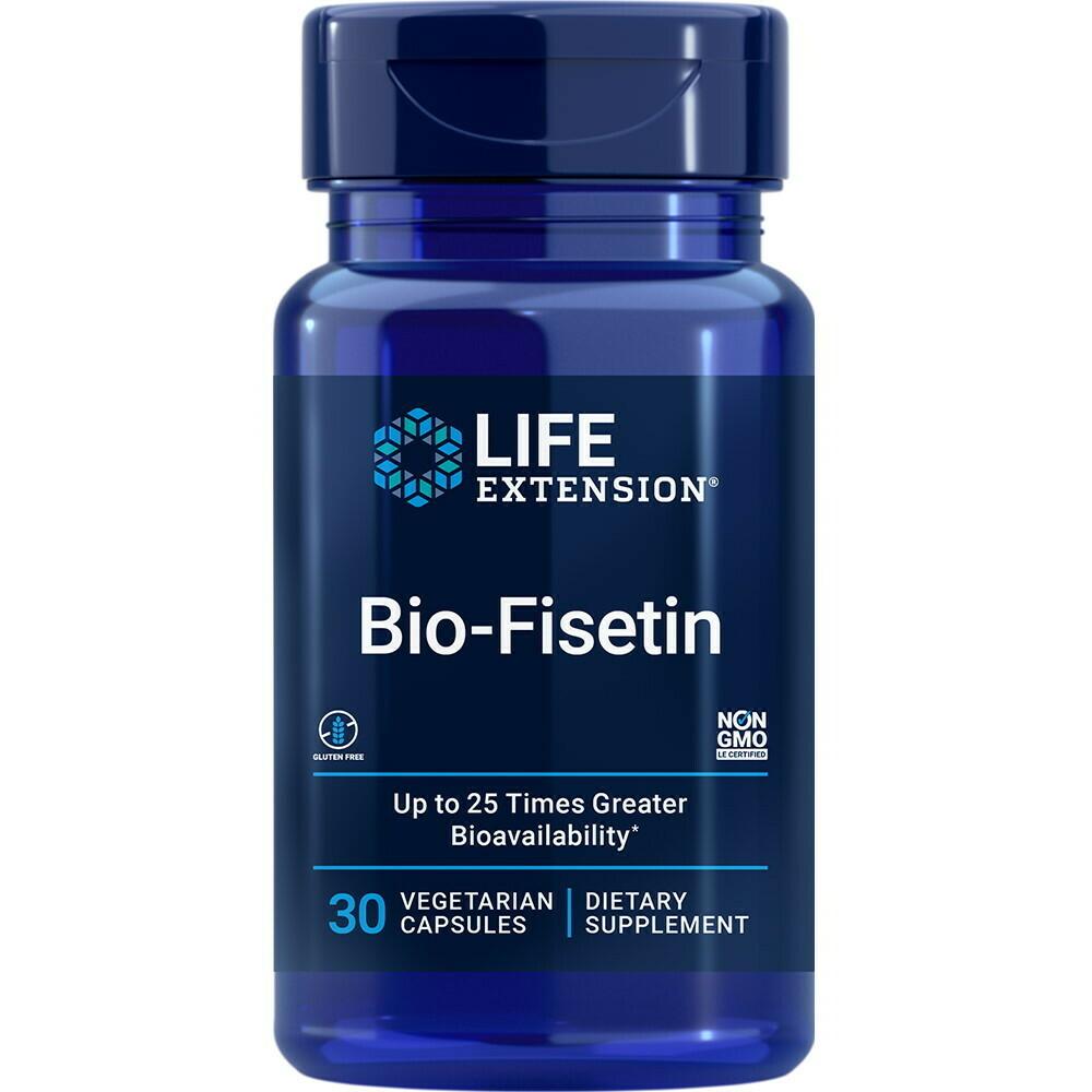 ביו פיסטין - 30 כמוסות צמחיות | Bio Fisetin 30c