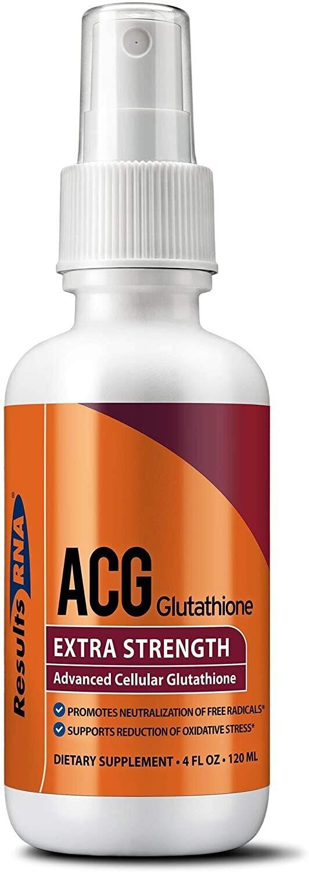 ACG Glutathione גלוטתיון - תרסיס גלותתיון מתקדם- תכשיר אנטי אייג'ינג להעלאת אנרגיות- לחודשיים | ACG Glutatione 120ml - ResultsRNA