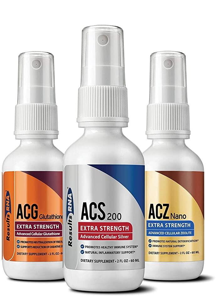 ניקוי רעלים מהגוף - הערכה האולטימטיבית | Ultimate Body Detox -  ResultsRNA - 60 ml per bottle