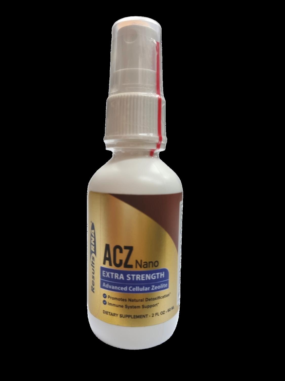 ACZ נאנו זאוליט- תרסיס לתמיכה בניקוי מתכות כבדות | ACZ Nano 60ml - ResultsRNA