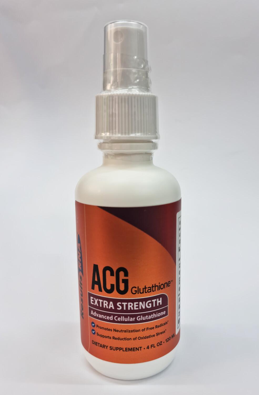 ACG Glutathione גלוטתיון - תרסיס גלותתיון מתקדם- תכשיר אנטי אייג'ינג להעלאת אנרגיות- לחודשיים   ACG Glutatione 120ml - ResultsRNA