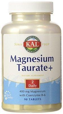 מגנזיום טאורט+ עם P5P - לספיגה גבוהה - 90 טבליות | Magnesium Taurate+ , 400 mg, 90 Tablets - KAL