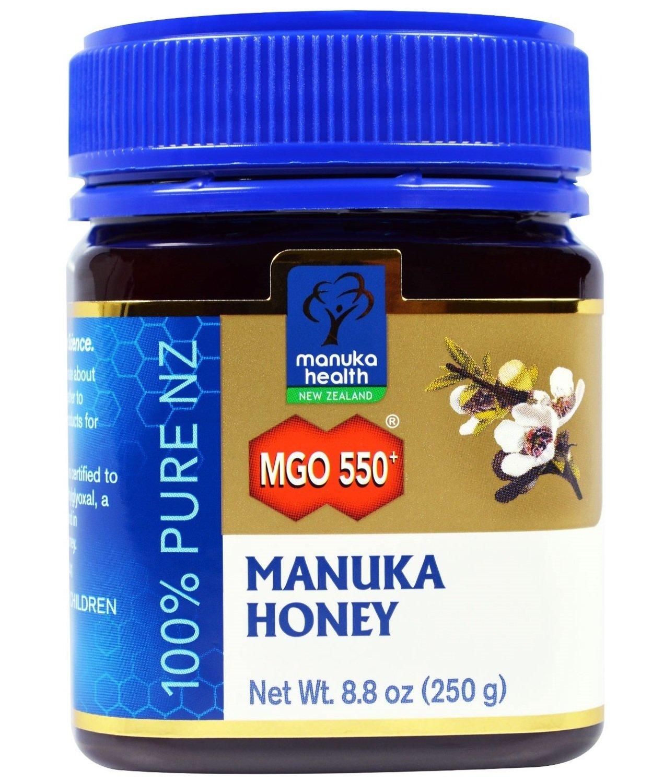 דבש מאנוקה - הדבש הניו-זילנדי המקורי. ריכוז MG550.  Original Manuka Honey - MGO 550, 250g