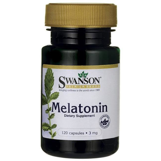 "מלטונין 3 מ""ג -120 כמוסות 