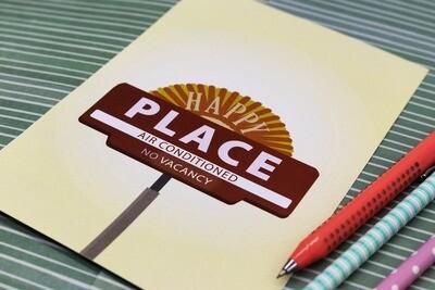 Happy Place - Print