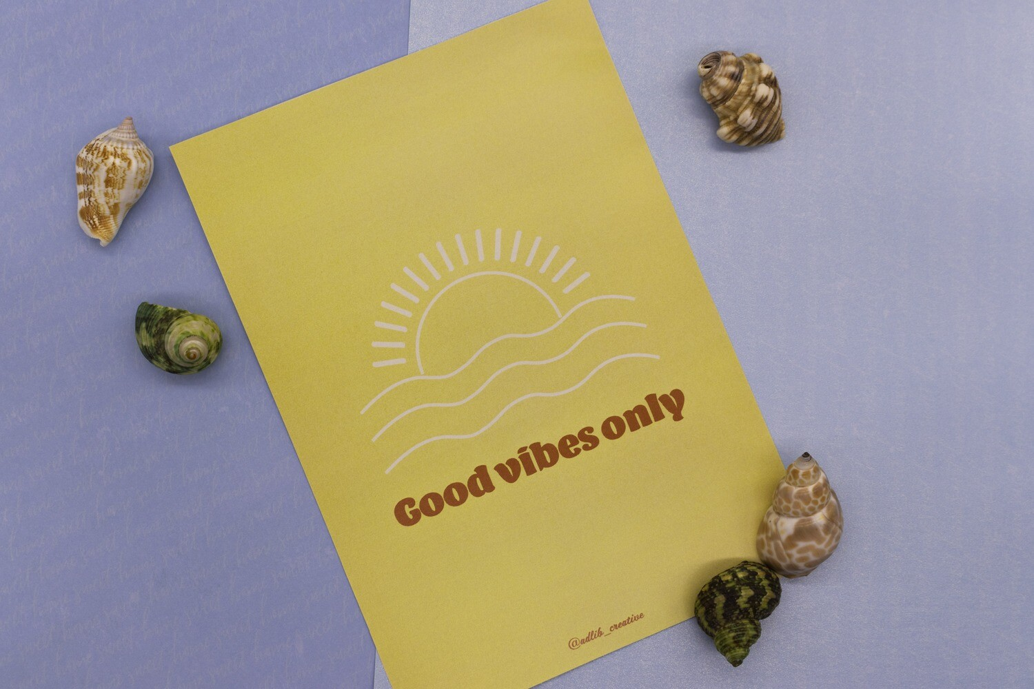 Good Vibes Only - Print