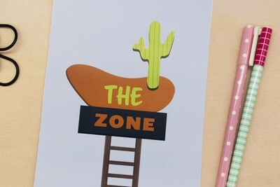 The zone - print