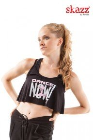 "Crop top ""Dance Now"" SK1603C SANSHA"