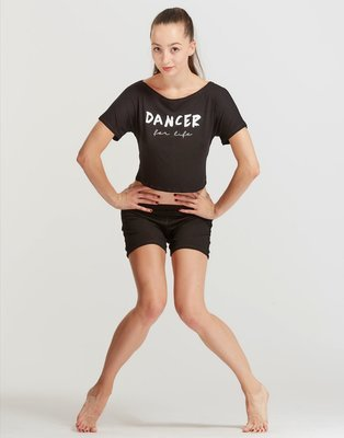 T-shirt court AGILE JR FOR LIFE TEMPS DANSE