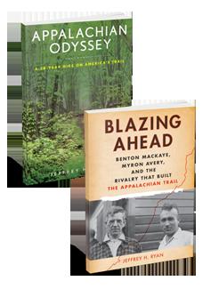 2 Book Bundle  - Appalachian Odyssey & Blazing Ahead
