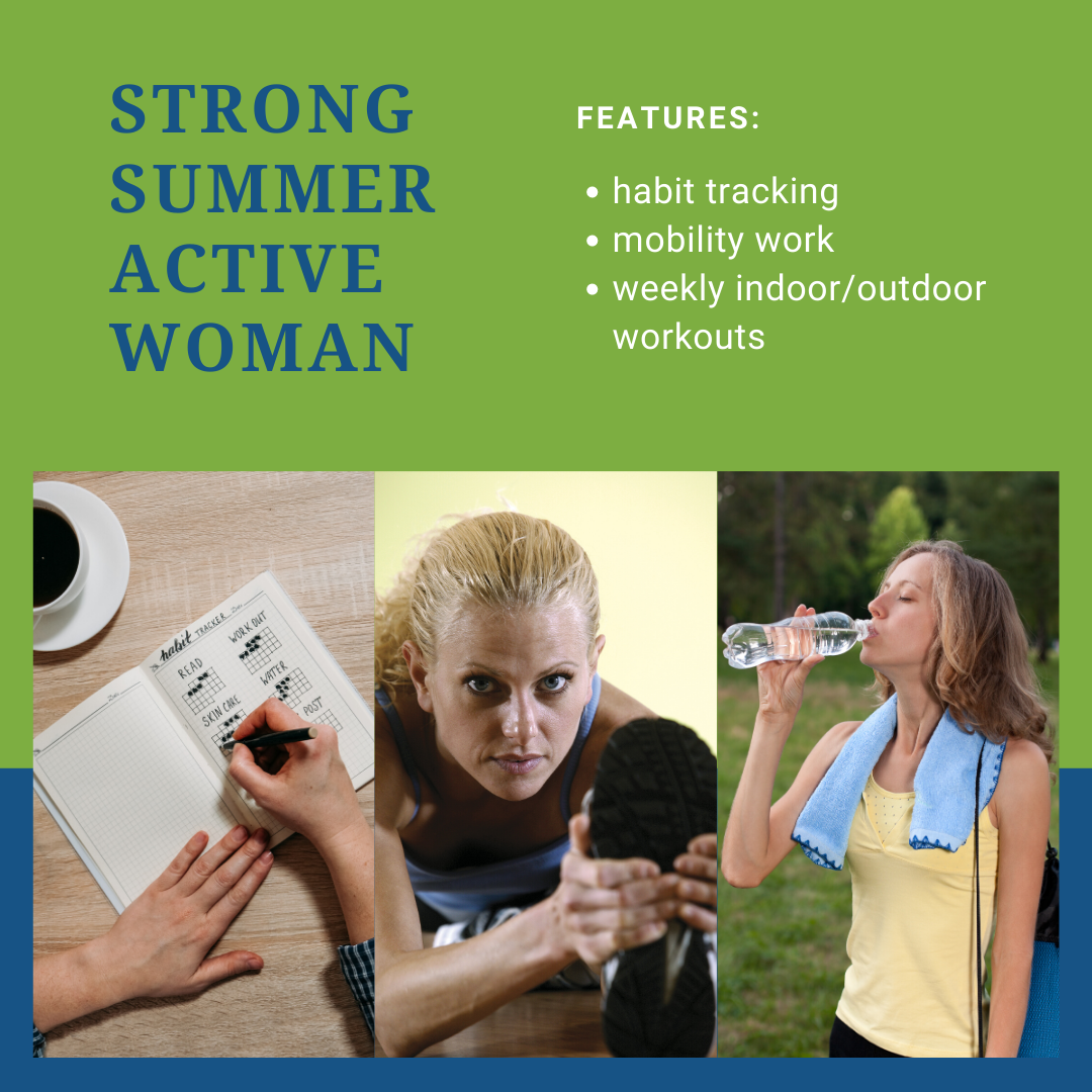 Strong Summer Active Woman