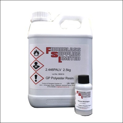 Crystic 2.446PALV Resin Lloyds Approved- 2.5KG