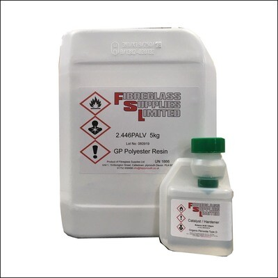 Crystic 2.446PALV Resin Lloyds Approved - 5KG
