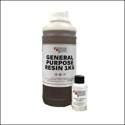 General Pupose Polyester Roofing Resin 1KG (Inc Catalyst)